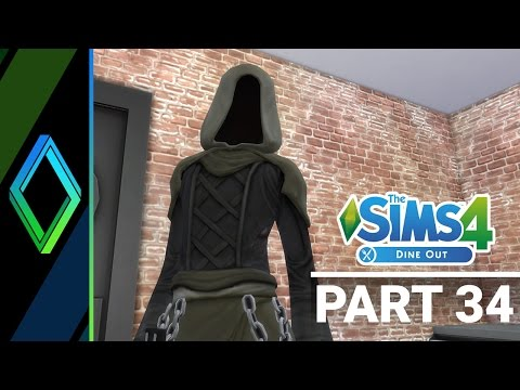 Sims 4 Dine Out Let's Play - Part 34