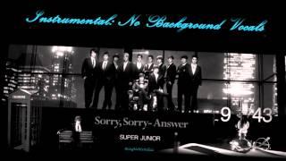 Download lagu super junior sorry sorry answer mp3
