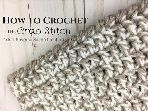 Crab Stitch Crochet Tutorial