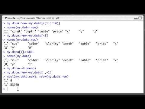 R15. Merging Multiple Data Frames (Econometrics in R) - Add Column ...