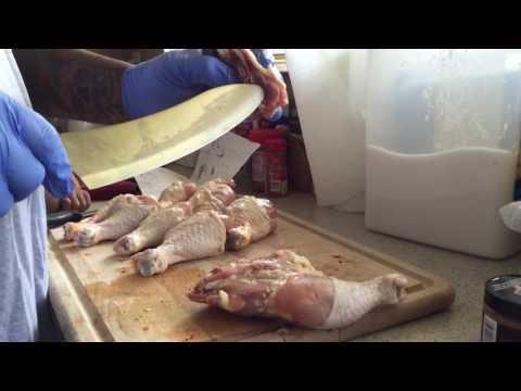 How to: Trim A Leg Quarter