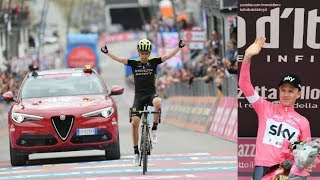 Giro d'Italia 2018 alla Radio - Arrivo 20° Tappa (SUSA - CERVINIA) da Rai Radio 1