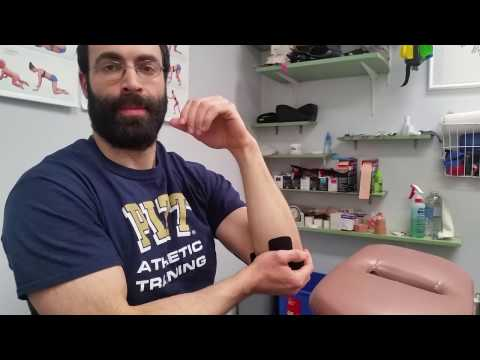 Ulnar Nerve Taping Technique