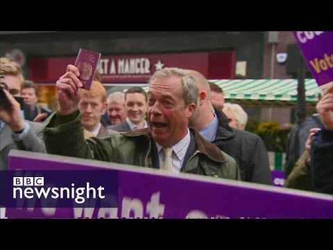 Brexit... Should the UK bring back the blue passport? - BBC Newsnight