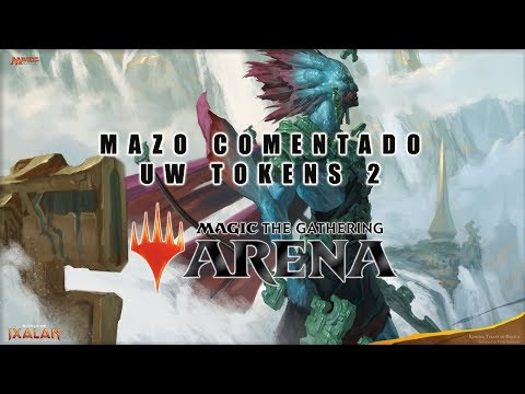 Magic Arena beta mazo comentado WU tokens 2