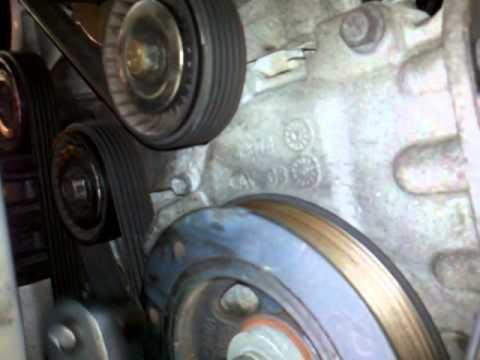 2007 Chrysler Sebring Serpentine belt tension pulley