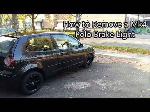 VW Mk4 Polo Brake Light Removal