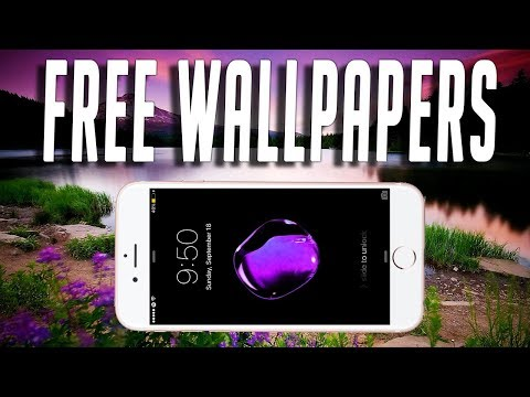 Get HD WallPapers Free On iPhone!!! Optical Illusions/Nature and More!! TechnoTrend