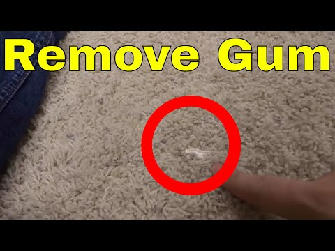 How To Remove Gum From Carpet Easily With WD-40