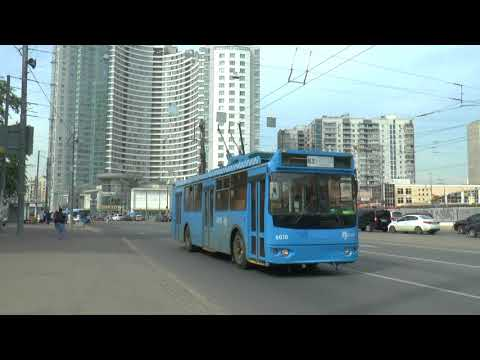 MOSCOW RUSSIA BUSES AND TROLLEYBUSES MAY 2018