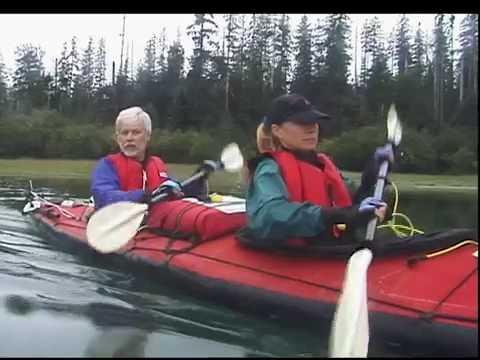 Kayak camping expedition in Glacier Bay, Alaska