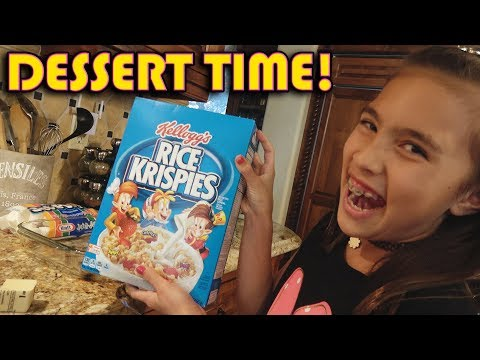 ULTIMATE RICE KRISPIES TREATS!!! Cooking with Jillian!
