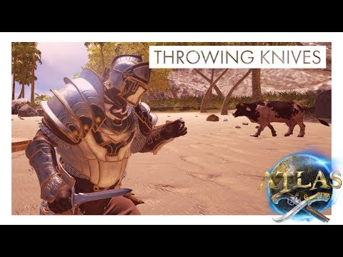 Atlas - How to Craft & Use Throwing Knives