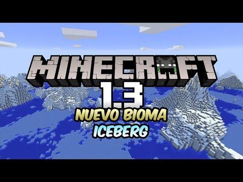 NUEVO BIOMA CONGELADO! ICEBERG! | Noticias Minecraft 1.3 (PE) | LadyAgnes