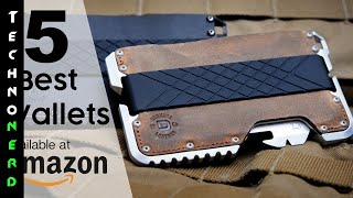 5 Best Wallets Available on Amazon 2017