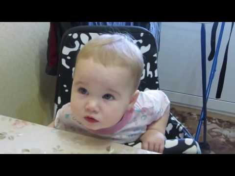 RUSSIAN BABY ARGUING WITH PARENTS  - FUNNY KID