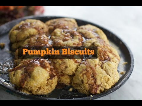 Pumpkin Old Fashioned Buttermilk Biscuits