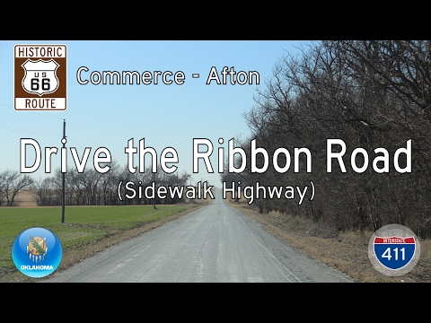 Historic Route 66 - Commerce - Afton - Oklahoma | Drive America's Highways 🚙