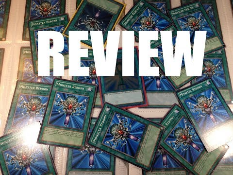 Yu-Gi-Oh! The Lost Art Promotion Monster Reborn Review