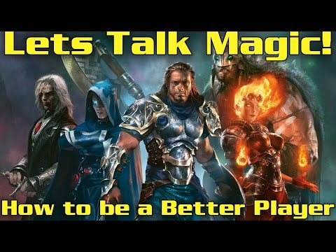 MTG Talk:  Deck Choices, What is Success, And How to Be a Better Player