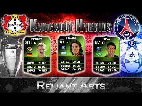 FIFA 14 Ultimate Team - Knockout Hybrids - Bayern Leverkusen v Paris Saint Germain - 150K
