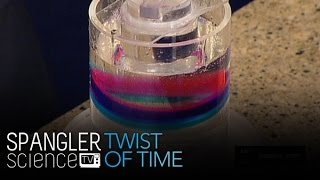 Twist of Time Turning Chaos into Order - Cool Science Experiment