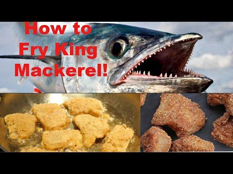 How to Fry King Mackerel!