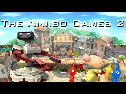 The Amiibo Games 2 - Round 2 Set 2   Gyrocologist (R.O.B) vs. 1 Inch (Olimar)