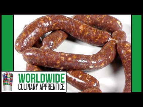 How to Make Chorizo - Chorizo Recipe - Making Chorizo - Chorizo Recipe - How to make sausage