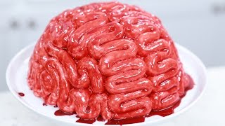 HOW TO MAKE A BRAIN CAKE - NERDY NUMMIES