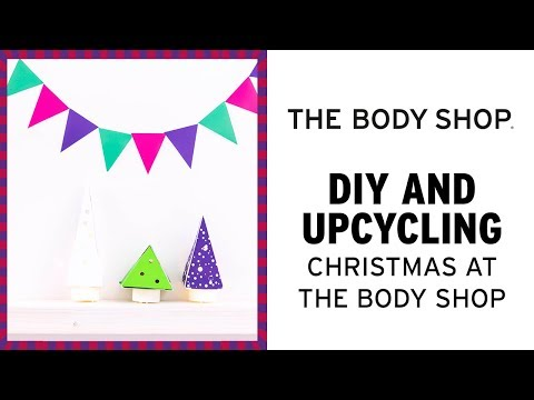 HOW TO: DIY Mini Light Up Christmas Trees – The Body Shop