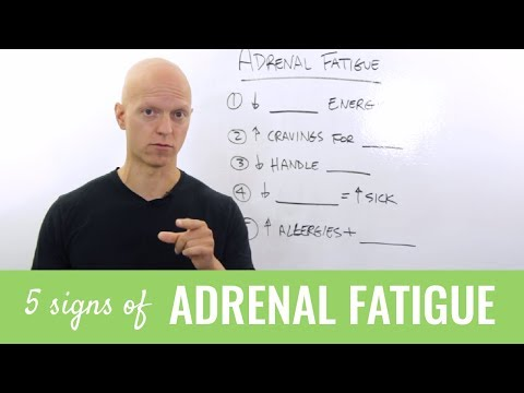 Adrenal Fatigue: 5 Alarming Signs You Need to Know About (Plus 30-Second Adrenal Test)