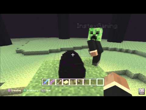 Minecraft PS3 Edition: Unlimited Enderdragon Eggs