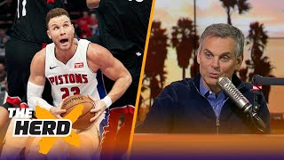 Colin Cowherd: 'It's the end of Blake Griffin's career as we know it' | THE HERD