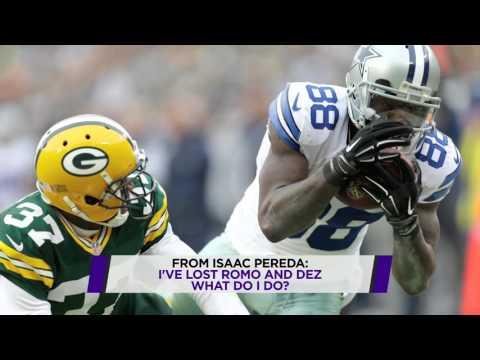 Should fantasy owners drop Romo, Dez?