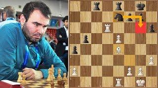 How Come MY Opponent Never Blunders? | Mamedyarov vs Navara | Batumi Chess Olympiad (2018)