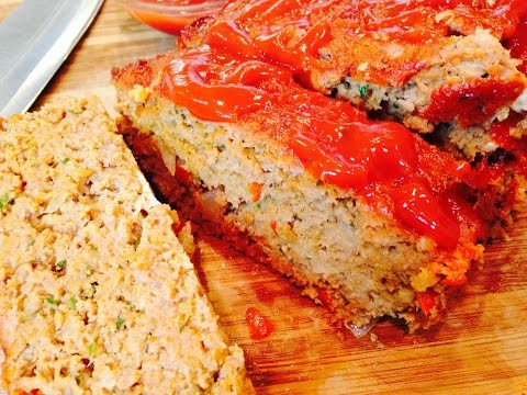 DELICIOUS Homemade Turkey Meatloaf Recipe  | DinnerThymeWithApril