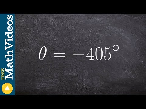 Pre-Calculus - Evaluate for sine cosine and tangent using reference angles, -405 degrees