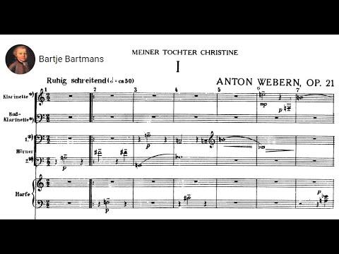 Anton Webern - Symphony Op. 21 (1927-28)