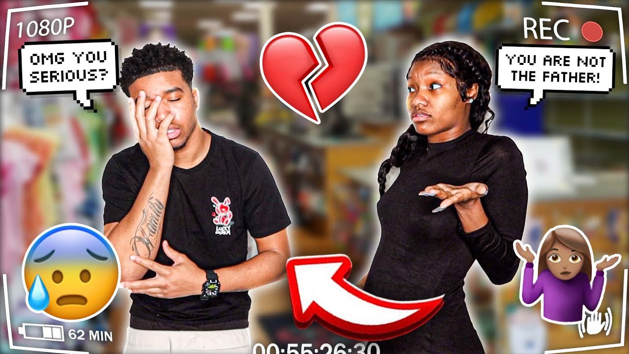 YOU'RE NOT THE FATHER PRANK ON BOYFRIEND!