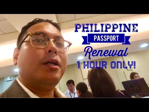 FAST Philippine Passport Renewal in 1 Hour DFA Courtesy Lane SM Megamall Satellite Office Manila