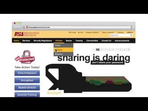 Arizona State University - Annual Information Security Training