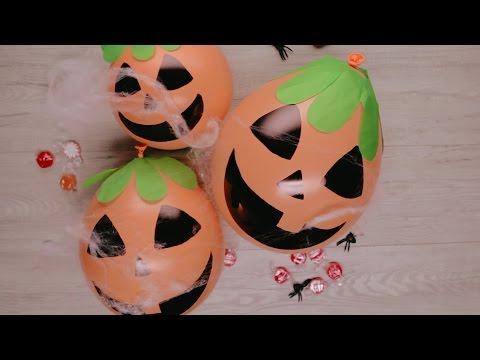 DIY Balloon Pumpkin Patch