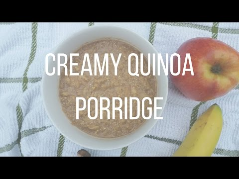 CREAMY QUINOA PORRIDGE | Apple quinoa porridge - Christina Tsiripidou