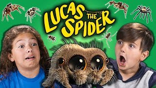 KIDS REACT TO LUCAS THE SPIDER