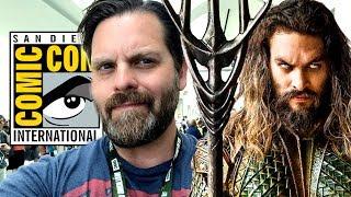 WB Comic Con Panel Reaction - Aquaman, Shazam! Wonder Woman 84 and more!