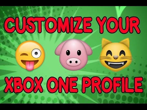 How To Customize your XBOX ONE profile (Verified Checkmark) 2016 - 2017