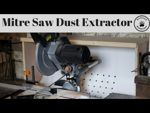 Miter Saw Dust Extractor