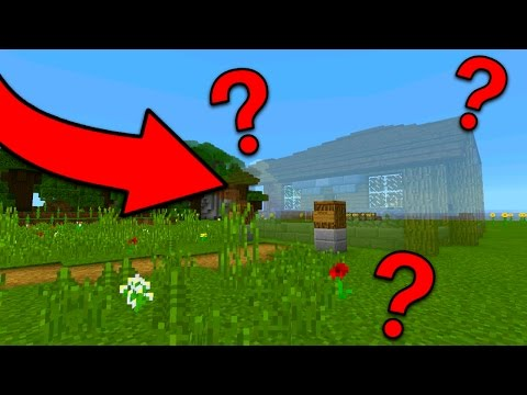 How To Spawn a House in Minecraft Pocket Edition