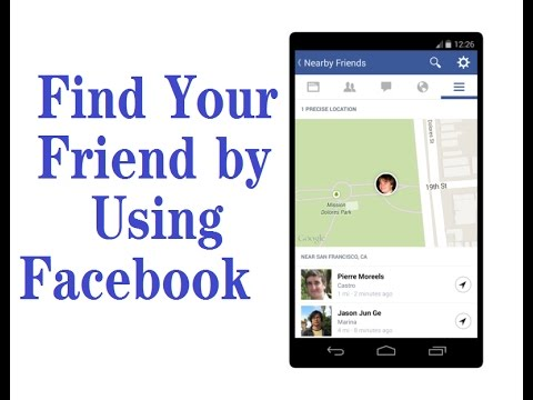 How to track friend location by facebook messenger